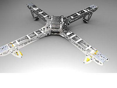 Quad Copter ARF Four-Rotor W/KK flight controler TxRx