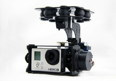 2-Axis brushless Gimbal specialized Gopro Gimbal