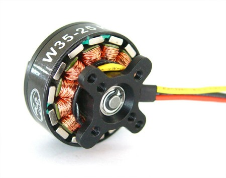 HL W48-30 480KV Outrunner Brushless Disk Type Motor for 6-8 roto