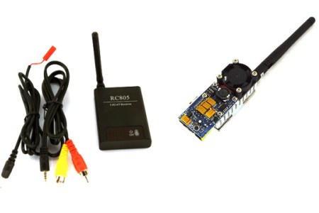 5.8G FPV 2W 12 Ch 2000mW Wireless Audio Video Transmitter