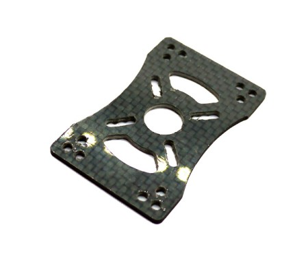 Motor Mount for MultiRotor 3k Carbon fiber for 19-25mm pipe clip
