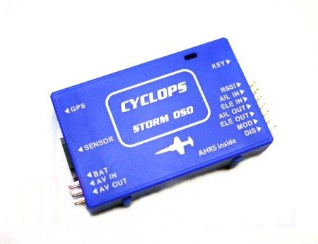 Cyclops Storm OSD best value AHRS based OSD with RTL/RTH